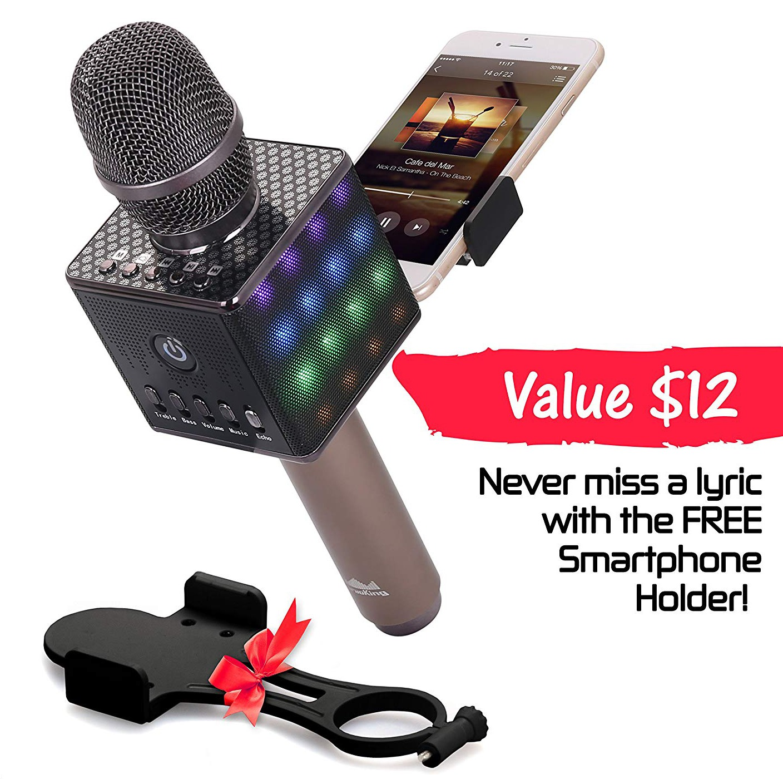 Wireless Bluetooth Karaoke Microphone H8